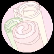 Изолон и фоамиран для больших цветов