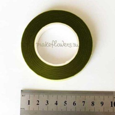 Тейп-лента флористическая (болотная/зеленый мох)