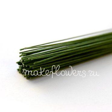 Проволока флористическая зеленая