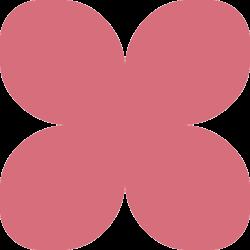 Фоамиран зефирный малиновый