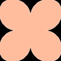 Фоамиран зефирный воздушный светло-персиковый