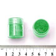 Флок-пудра зеленая, 6 мл