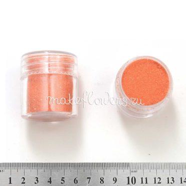 Песок кварцевый персиковый