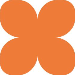 Фоамиран зефирный оранжевый