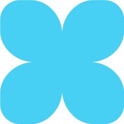 Зефирный фоамиран светло-голубой