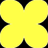 Фоамиран зефирный Ярко-желтый