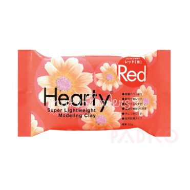 Зефирная глина Padico Hearty Red красная 50 гр