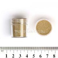 Песок с блестками золотой