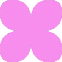 Зефирный фоамиран ярко-розовый