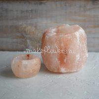 Подсвечник из гималайской соли
