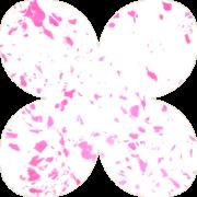 Зефирный мраморный розовый фоамиран