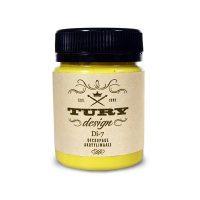 Акриловая краска TURY Design лимонный