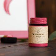Акриловая краска TURY Design вишневое вино