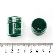 Флок-пудра бриллиантовый зеленый, 6 мл