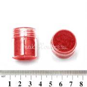 Флок-пудра красная, 6 мл