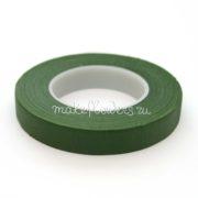 Флористическая тейп-лента темно-зеленая