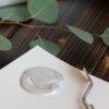 Металлик акриловый Tury Design - Серебристый шелк