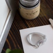 Металлик акриловый Tury Design - Серебро