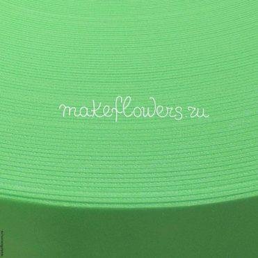 Изолон для цветов ППЭ, зеленый G444