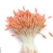 Тычинки реалистичные «семечко вытянутое» персиковые, 280 гол.