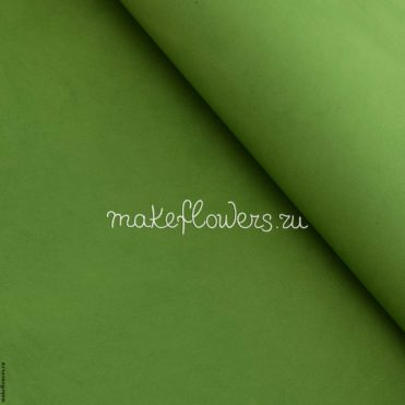 Фоамиран (ЭВА) зефирный Темно-зеленый