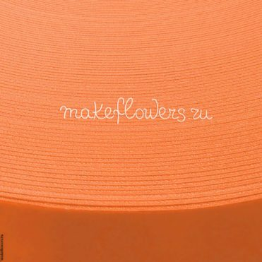 Изолон для цветов ППЭ 3 мм, оранжевый (1 кв. м)