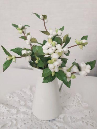 Молд снежноягодника. Автор работы Елена Гордеева
