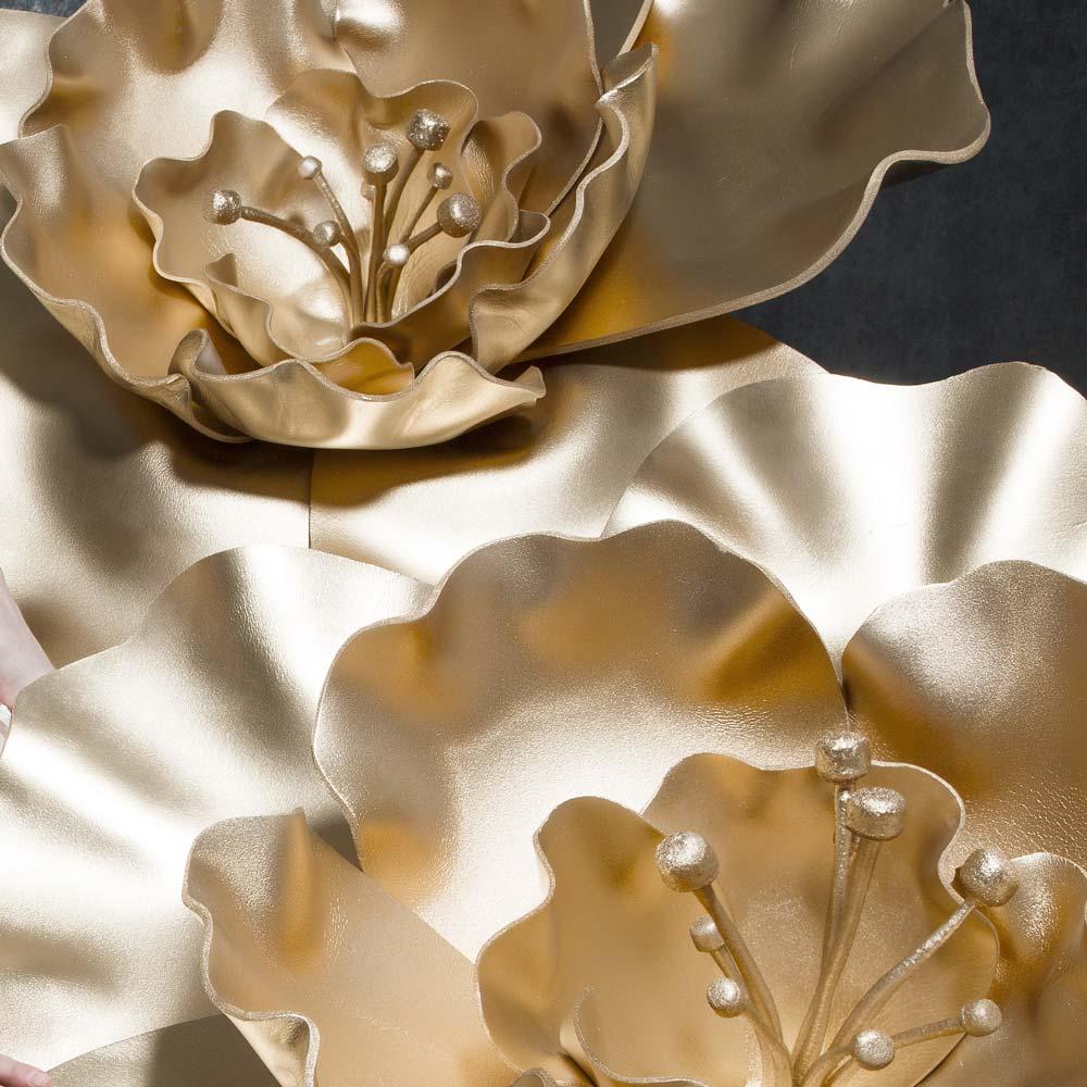 Большие цветы из изолона и фоамирана