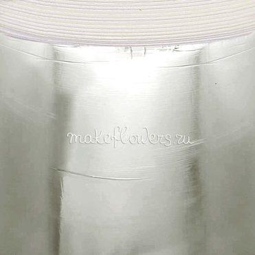 Изолон для цветов ППЭ 2 мм, серебряная пленка
