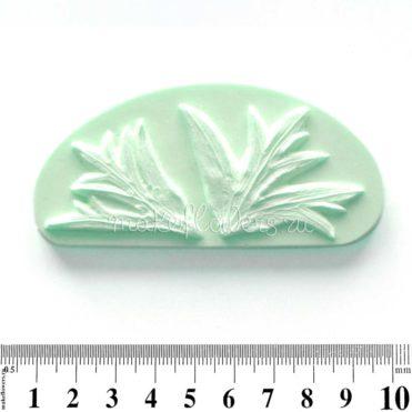 Молд для фоамирана набор резных листьев Анемона