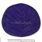 Молд для больших цветов Лист Эвкалипта 26х31 см