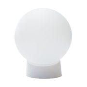 Плафон-светильник для больших цветов, 150 мм, белый матовый