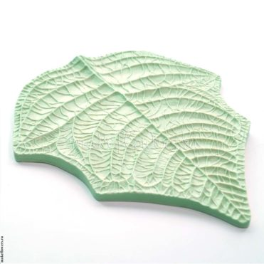 Молд для больших цветов Лист Пуансеттии 30х35см