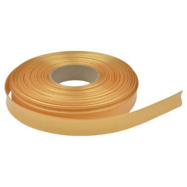 Флористический рукав термо (трубка для стебля), 22/11 мм x 1м, Жемчужное золото