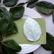 Молд Большой лист Розы для фоамирана 11см