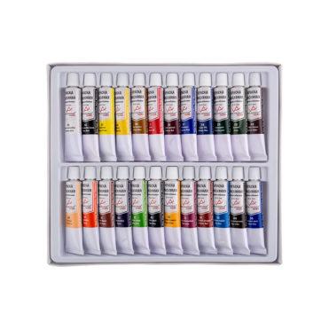 Набор масляных красок Vista-Artista Studio, 24 цв. VAMP-1224 для фоамирана