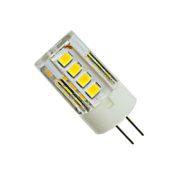 Лампа светодиодная G4 3W 220В, Белый свет (4000К) для светильников из изолона