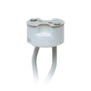 Патрон керамический для лампы на цоколе GU4/GU5.3 для светильников из изолона