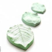 Молды и вайнеры Листья розы, Набор из 3 листьев