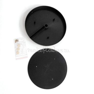 Подставка-основание 150мм для светильника из изолона, черная